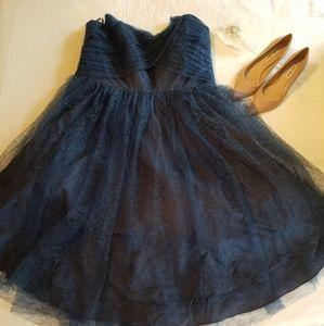 NWOT Unique Vintage lace sweetheart tea dress
